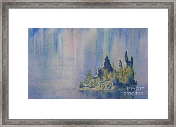 Isle Of Reflection Framed Print