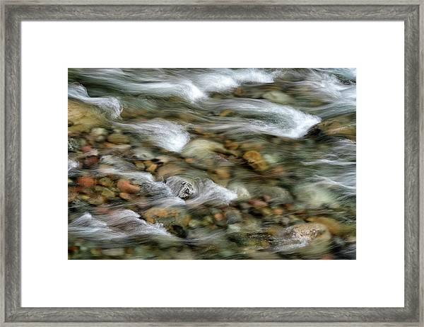 Iao Stream Framed Print