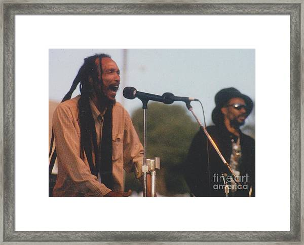 Israel Vibration Framed Print by Mia Alexander