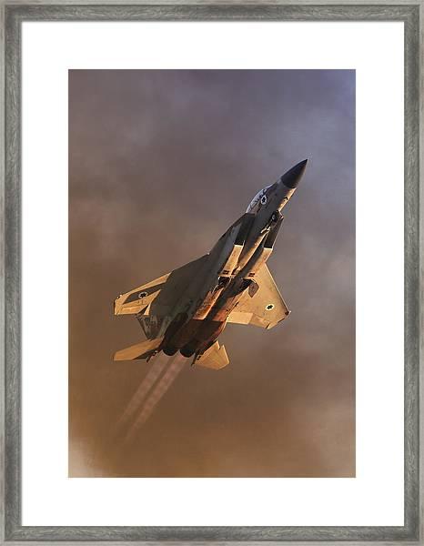 Israeli Air Force F-15i Framed Print