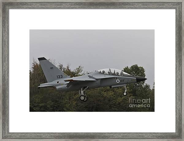 Israeli Air Force M-346i Lavi #133 Framed Print