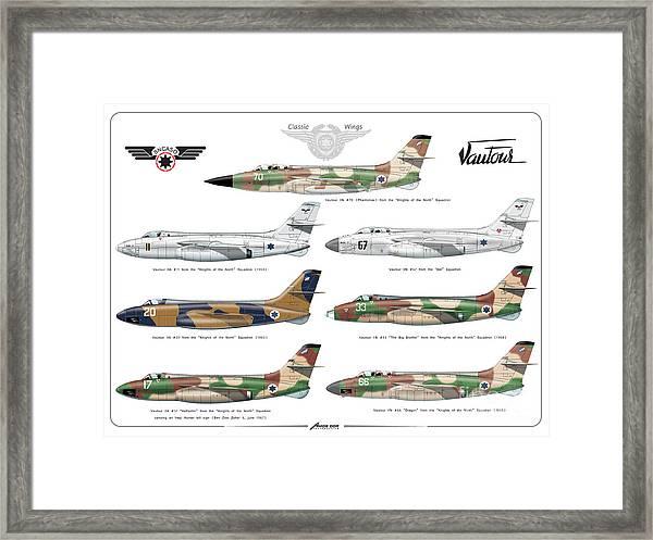 Israeli Air Force Sncaso Voutours Framed Print