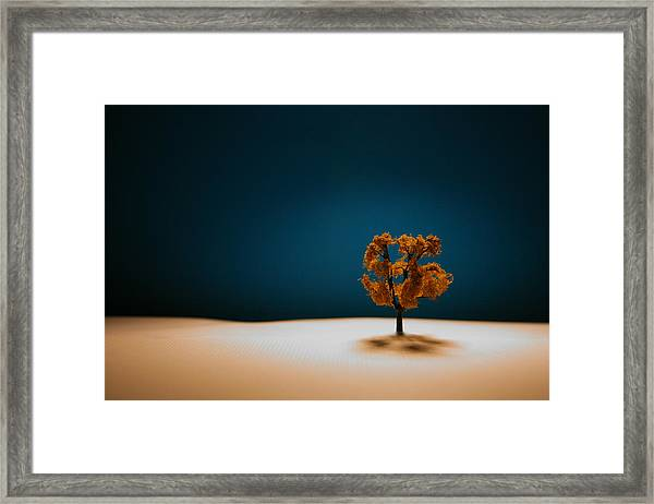 It Is Always There Framed Print