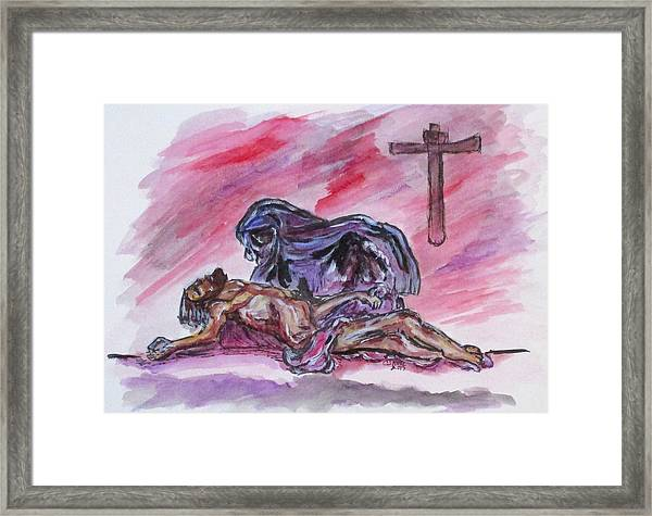 It Is Done Framed Print