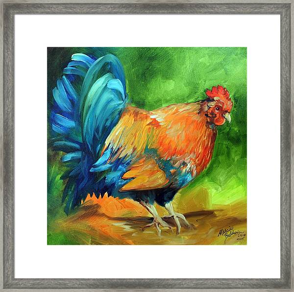 It Is Morning Time  Framed Print by Marcia Baldwin