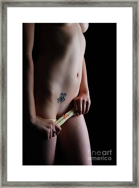 It Is Now Or Never Framed Print