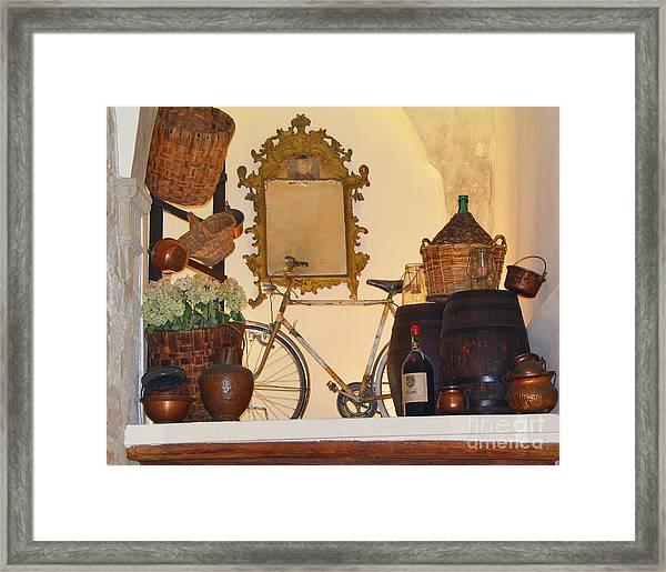 Italian Osteria Framed Print