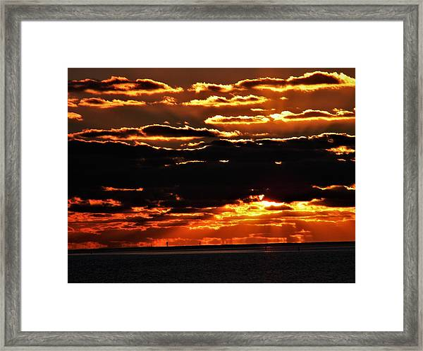Its 430 Am At Islamorada Framed Print