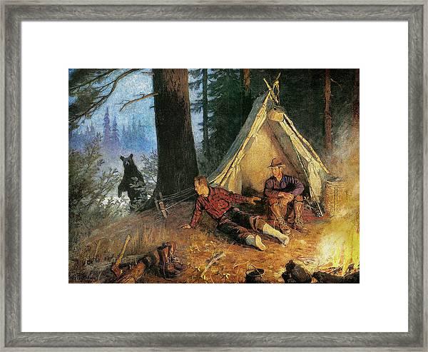 Its A Bear Framed Print