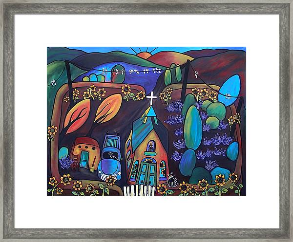 It's A Beautiful Morning Framed Print