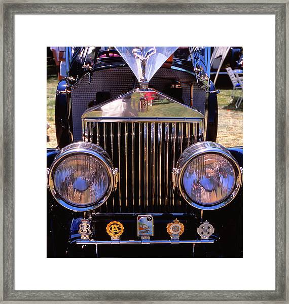 It's A Rolls Framed Print