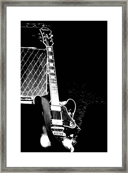 Its All Rock N Roll Framed Print