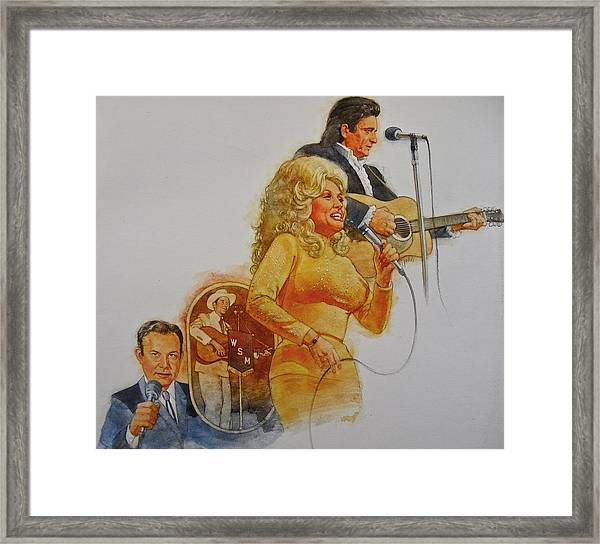 Its Country - 5 Framed Print