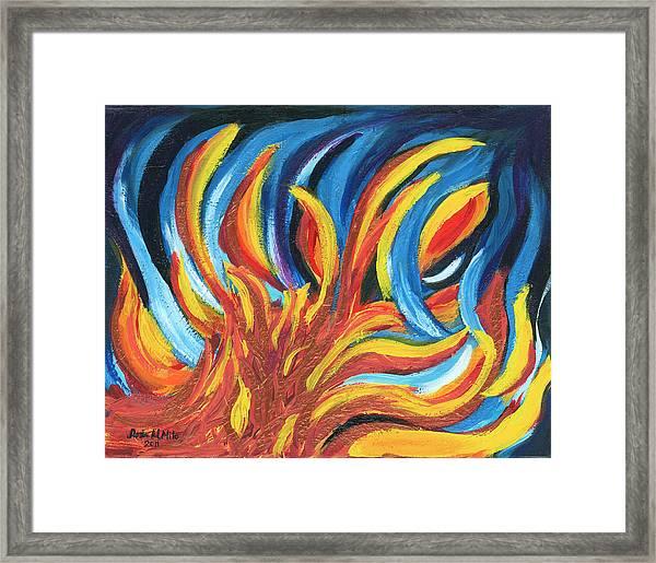Its Elemental Framed Print
