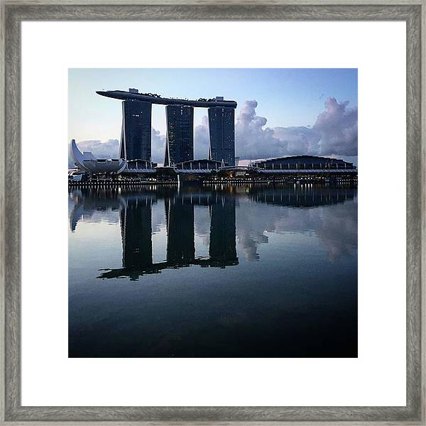 It's The Training That Gets You To The Framed Print by Arya Swadharma