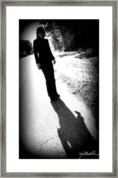 Jaci Framed Print by Melissa Wyatt