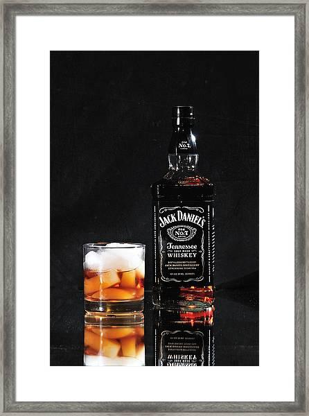 Jack Daniels Old No 7 Framed Print
