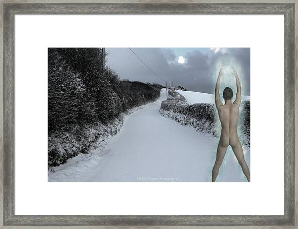 Framed Print featuring the photograph Jack Frost by Michael Taggart