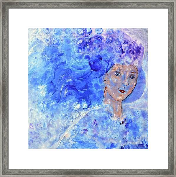 Jack Frost's Girl Framed Print