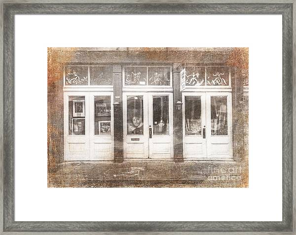 Jackson On Bourbon Street Framed Print