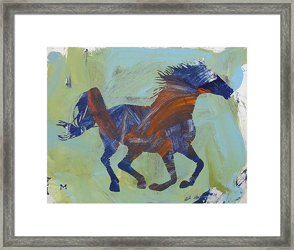 Framed Print featuring the painting Jacob's Inspiration by Candace Shrope
