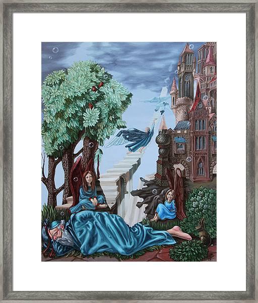 Jacob's Ladder Framed Print