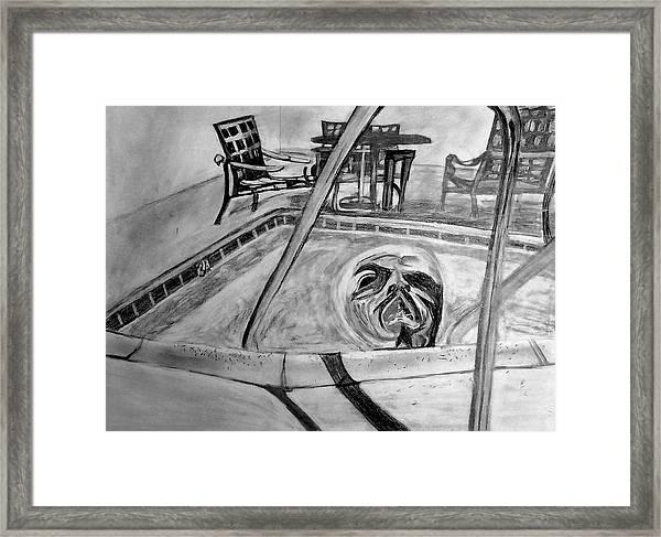 Jacuzzi Framed Print