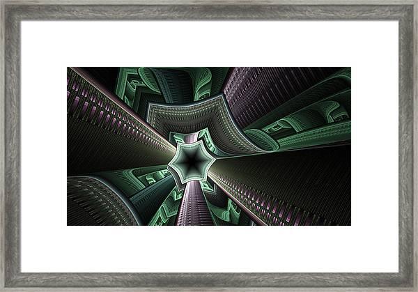 Jade Empress Framed Print