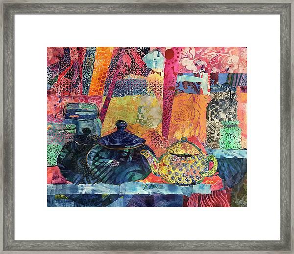 Jam And Tea Framed Print