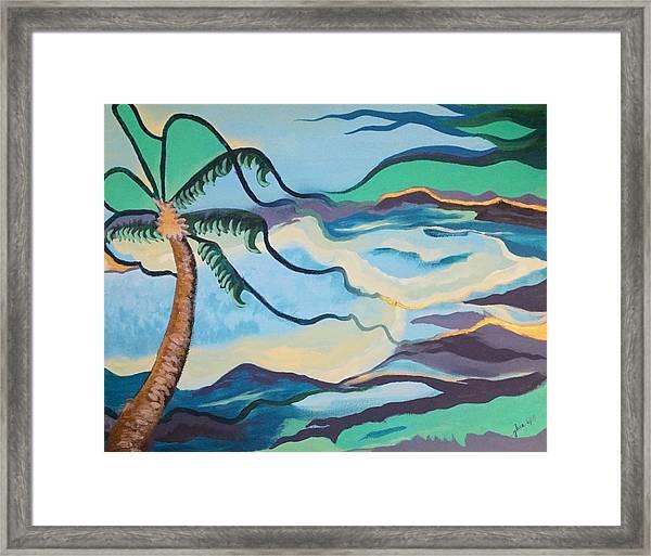 Jamaican Sea Breeze Framed Print