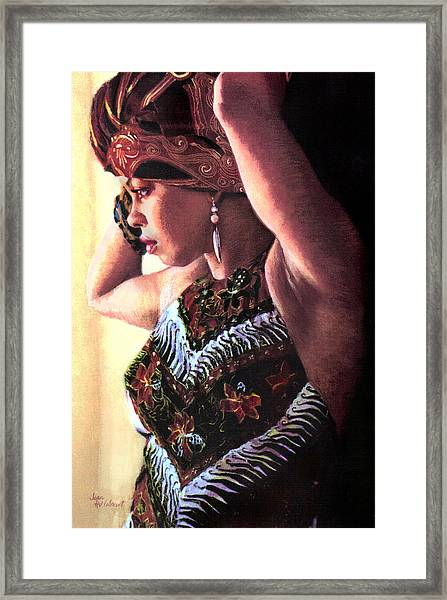 Jamaican Woman Framed Print