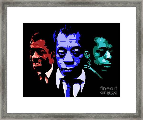 James Baldwin Framed Print