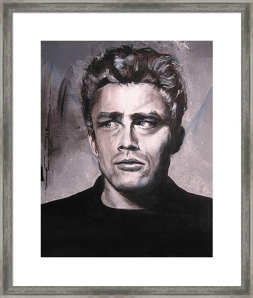 James Dean Two Framed Print
