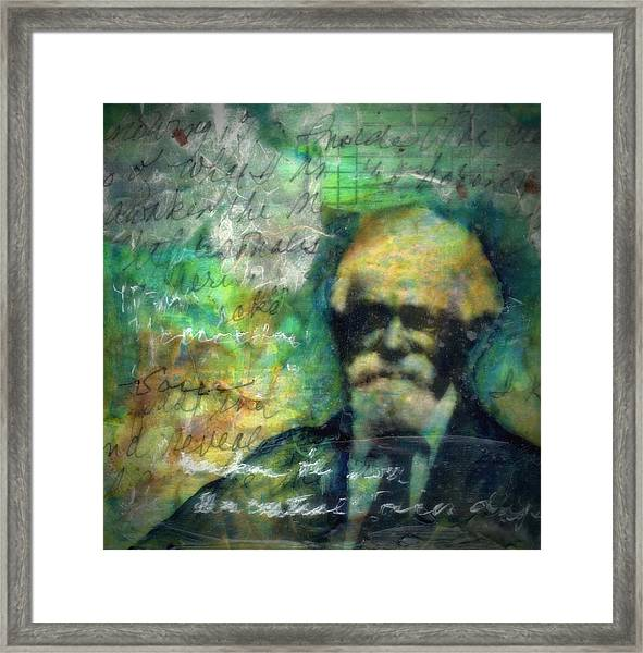 James Henry-study Framed Print