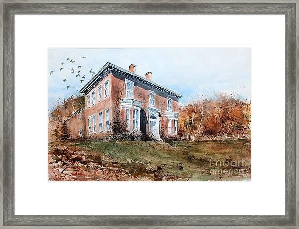James Mcleaster House Framed Print