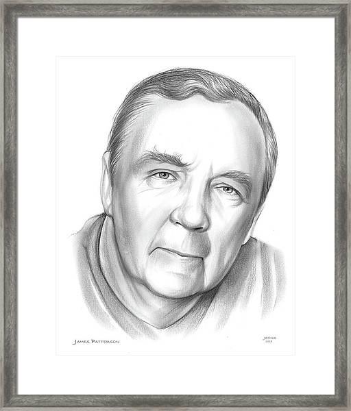 James Patterson Framed Print