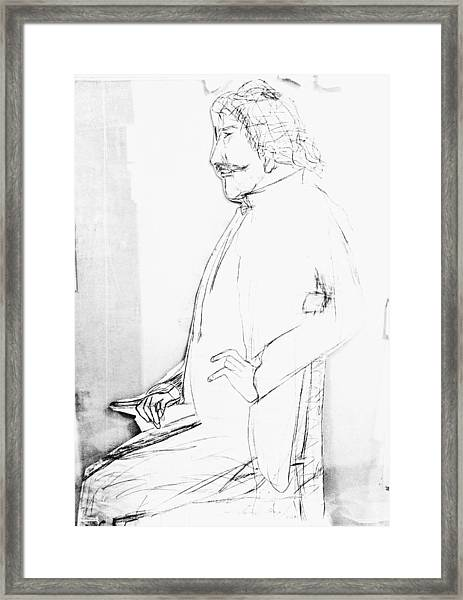 James Whistler's Portrait Framed Print