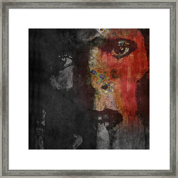 Jamming Good With Wierd And Gilly Framed Print