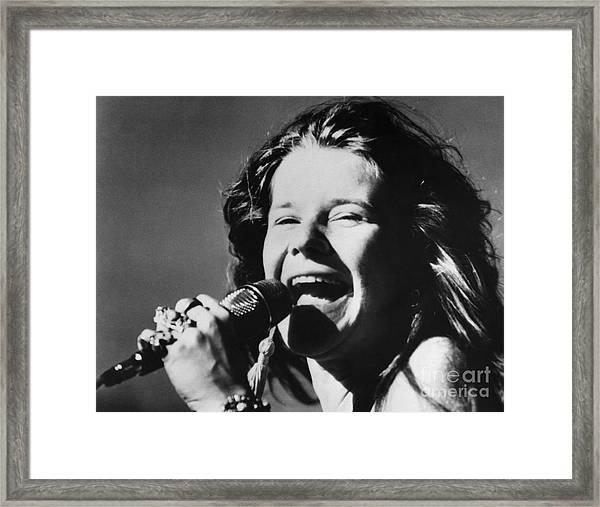 Janis Joplin (1943-1970) Framed Print