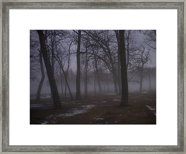 January Fog 2 Framed Print