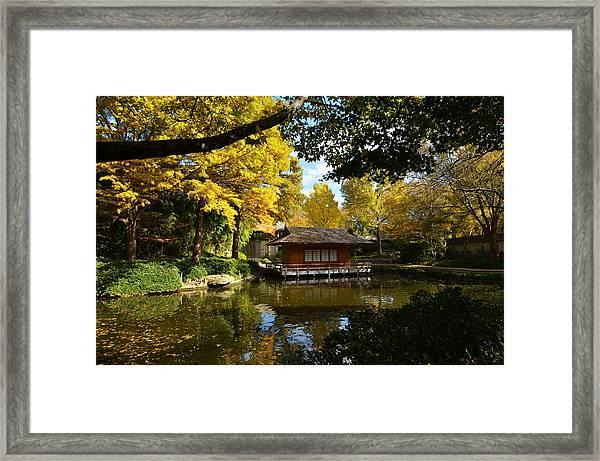 Japanese Gardens 2541a Framed Print