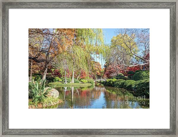 Japanese Gardens Framed Print