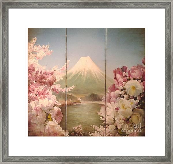 Japanese Spring Framed Print