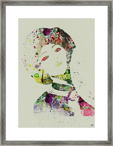 Japanese Woman Framed Print