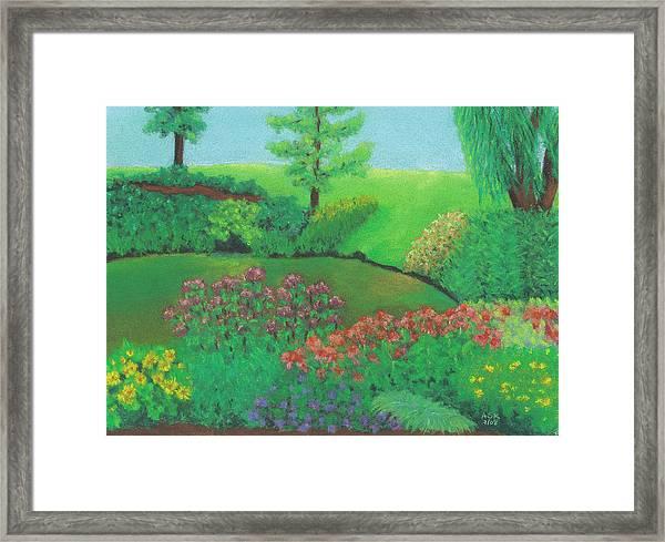 Jardin De Juillet Framed Print