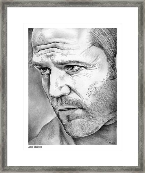 Jason Statham Framed Print