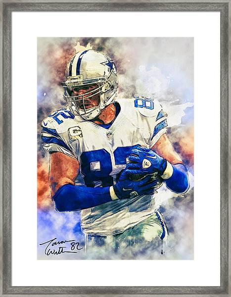 Jason Witten Framed Print