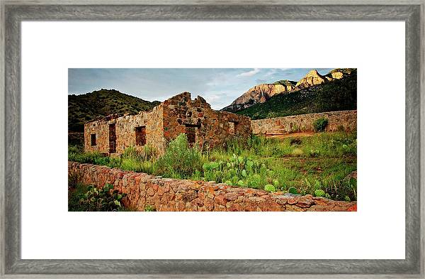 Jaun Tabo Cabin, Albuquerque, New Mexico Framed Print