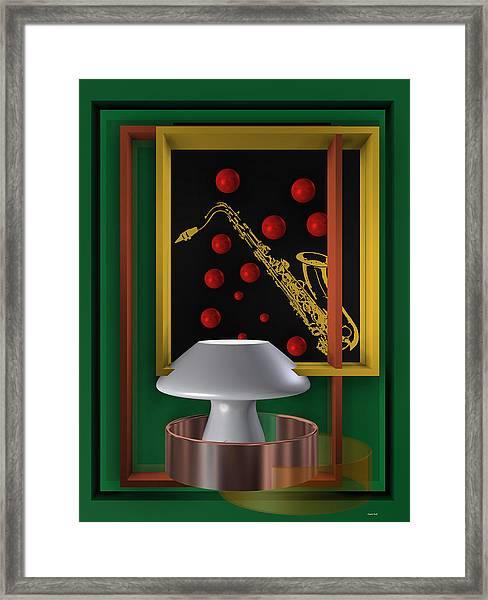 Jazz Club Framed Print