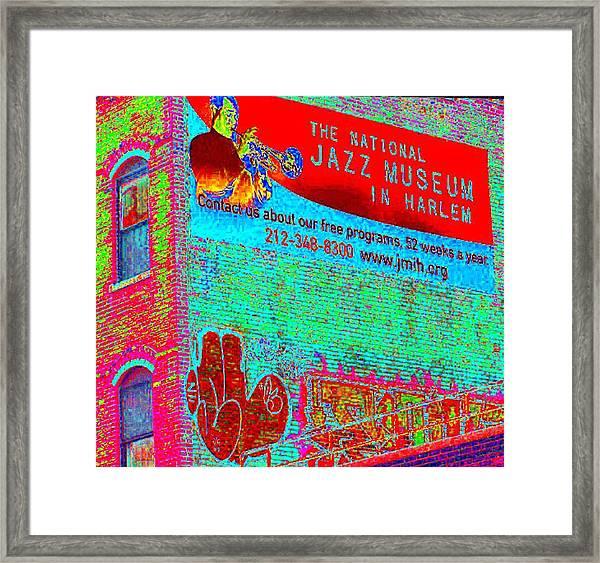 Jazz Museum Framed Print